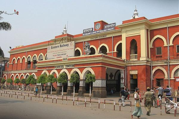 Asansol India  City pictures : Asansol Railway Station Building Asansol