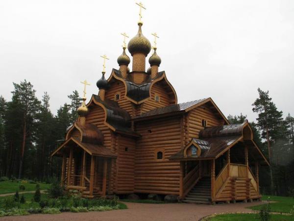 Строительство церквей на Руси