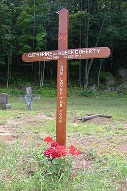 grave of catherine de hueck doherty combermere ontario. Black Bedroom Furniture Sets. Home Design Ideas
