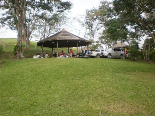 Crystal Rapids picnic area