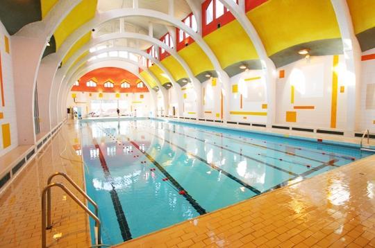 Piscine de la butte aux cailles paris piscine centre for Piscine butte aux cailles aquagym