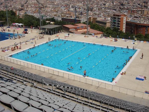 Piscina municipal de montjuic barcelona - Piscina en barcelona ...