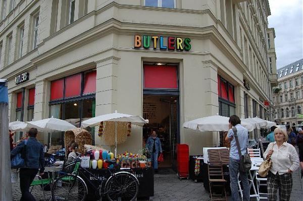 Butlers Hackescher Markt Berlin Geschäft