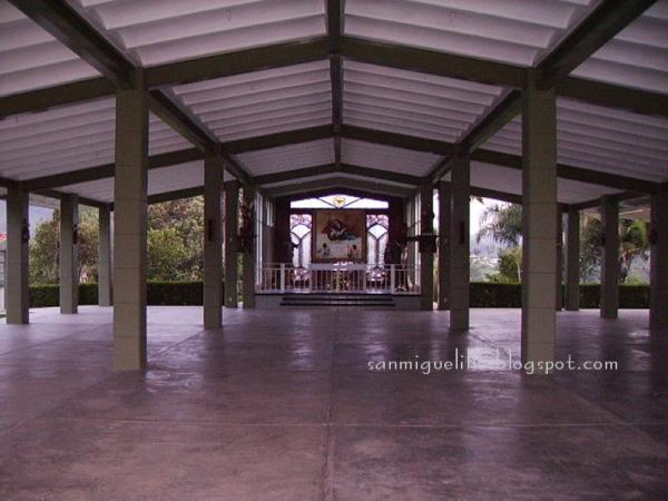 Jard n de mar a interior de la capilla a la sant sima for Jardin 3 marias