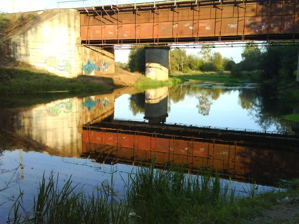 Railroad bridges pushkino