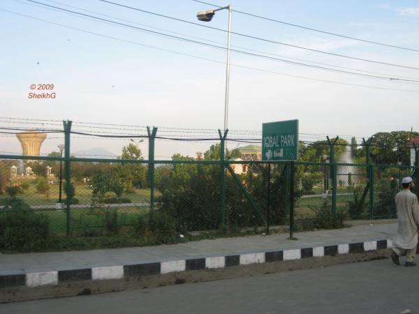 Iqbal Park Srinagar Muhammad Iqbal ra Park