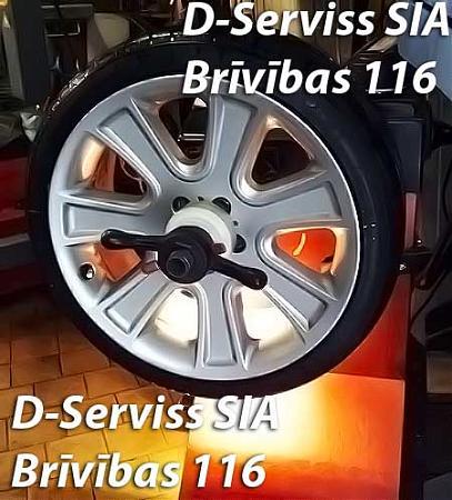 Ремонт любых колёсных дисков рига