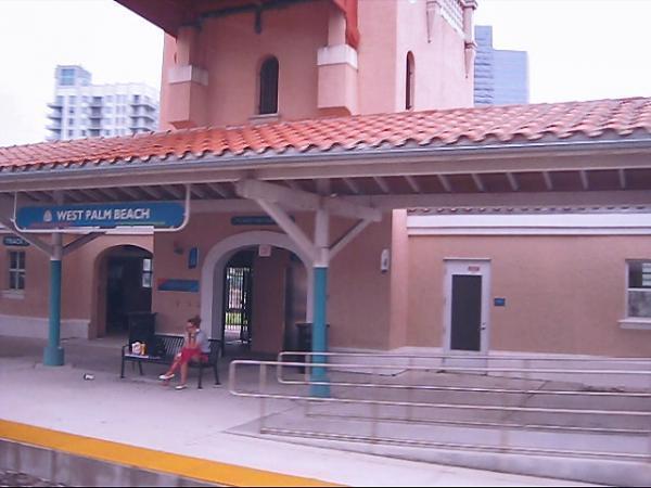 West Palm Beach Station Intermodal Terminal Tri Rail Amtrak Greyhound