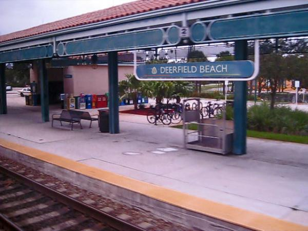 Deerfield Beach Fl Train Station