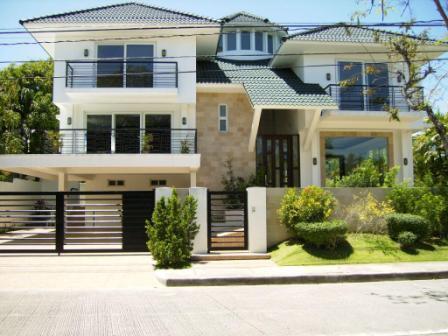 Ayala alabang muntinlupa barangay fourth level for Big modern house philippines