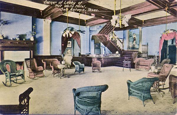 Hot Wells Bath House Ruins San Antonio Texas