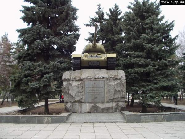 Памятник танковому экипажу Николая Яценко 96_big