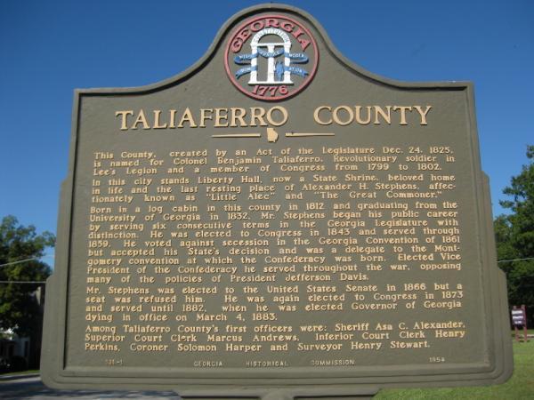 taliaferro county Compare population statistics about taliaferro county, ga from the 2010 and 2000 census by race, age, gender, latino/hispanic origin etc.