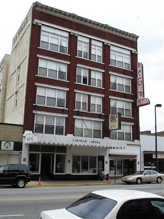 Lasalle Hotel Building Hammond Indiana