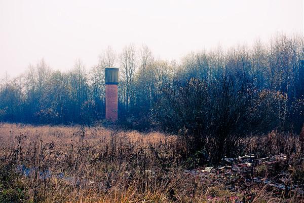 Водонапорная башня и скважина