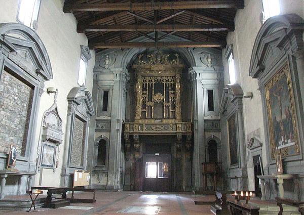 Chiesa e convento di san domenico pistoia chiesa for Chiesa di san leone pistoia