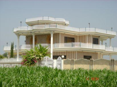 Haleem khan house hussain kot for Home garden design in pakistan