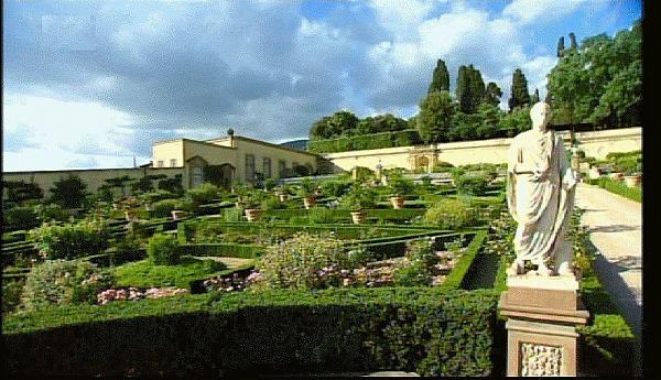 Jardin l italienne de la villa de castello florence - Jardin a l italienne ...