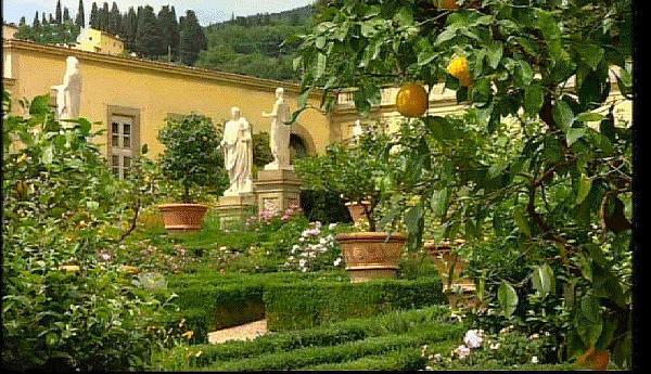 Jardin l italienne de la villa de castello florence - Giardini bellissimi ...