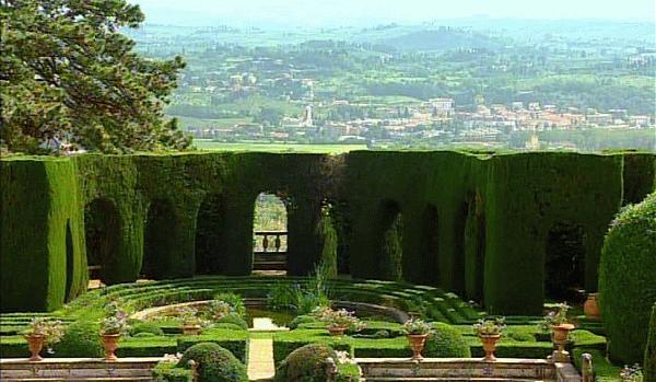 Villa peyron al bosco di fontelucente second terracing for Jardines italianos