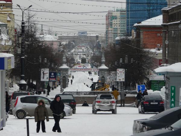 Пешеходная зона ул кирова челябинск