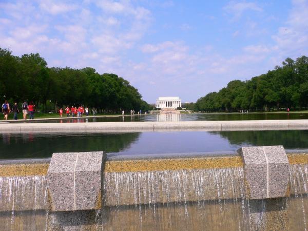 Lincoln memorial reflecting pool washington d c - Reflecting pool ...