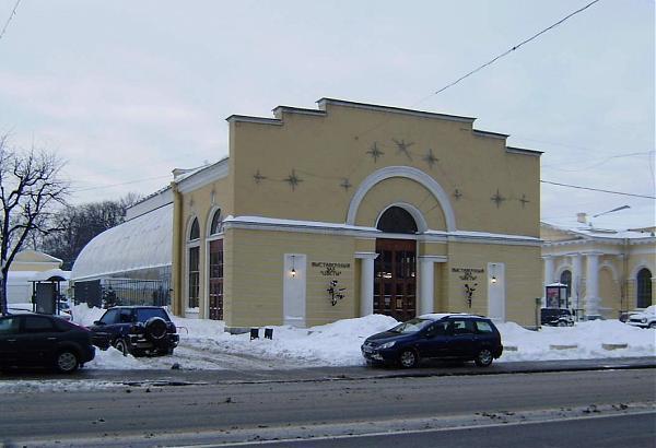 Таврического дворца - Выставочный зал.