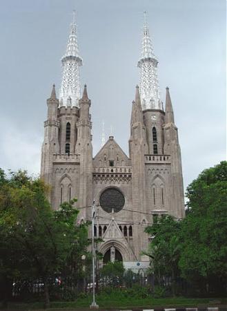 Gereja Katedral Santa Perawan Maria Diangkat Ke Surga Dki Jakarta
