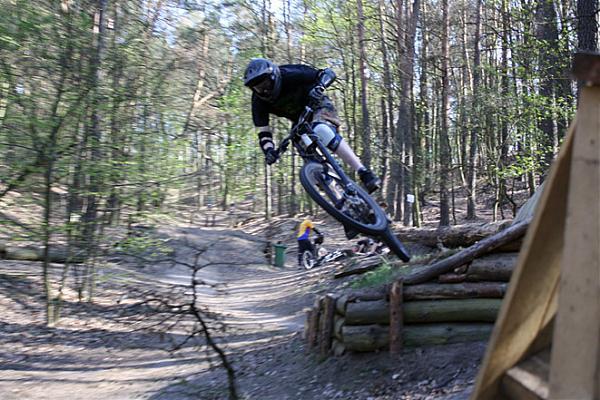 Quot Mueggelz Quot Mountain Bike Downhill Track Berlin