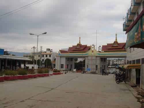 Muse Myanmar  City pictures : MuSe Town of Union of MyanMar at the border with China.