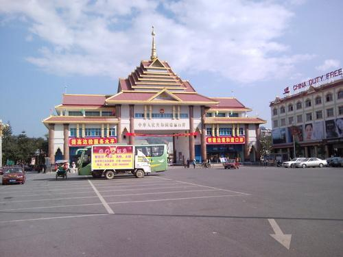 Muse Myanmar  City new picture : MuSe Town of Union of MyanMar at the border with China.