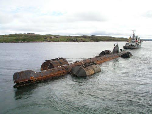 лодка затопившая курск