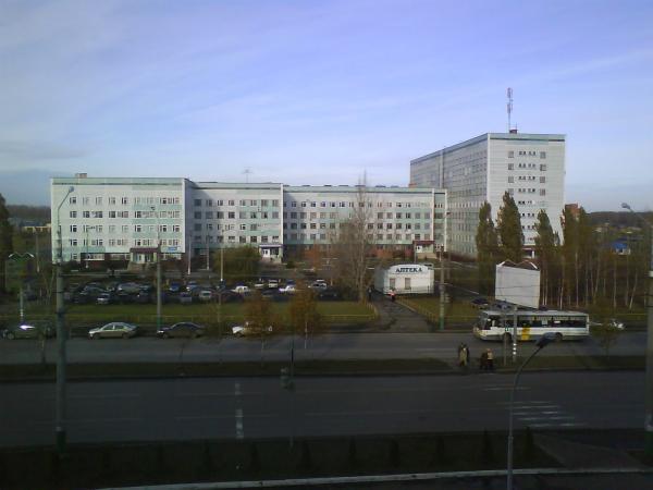 Районная поликлиника в вятских полянах