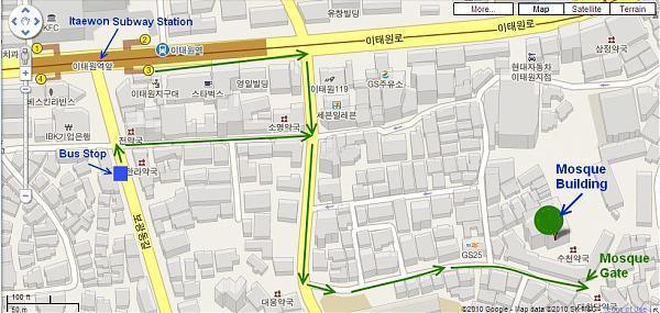 Itaewon Central Mosque Seoul Seoul