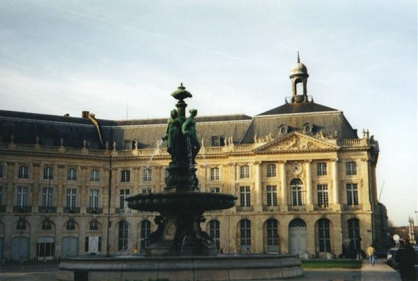 Palais de la bourse bordeaux for Chambre de commerce de bordeaux