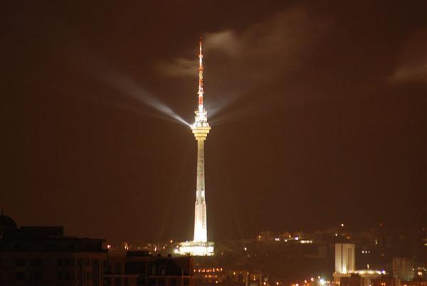 Baku Tv Tower Baku Restaurant Television Transmission Tower