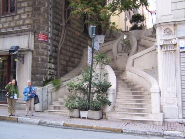 Camondo Stairs - Istanbul  interesting place