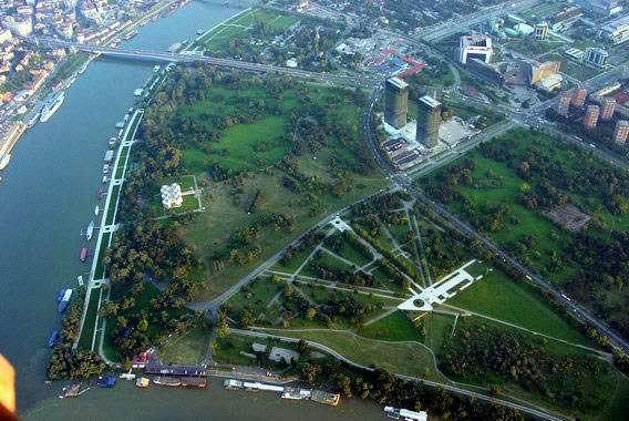 Proposed U će Tower 2 Belgrade
