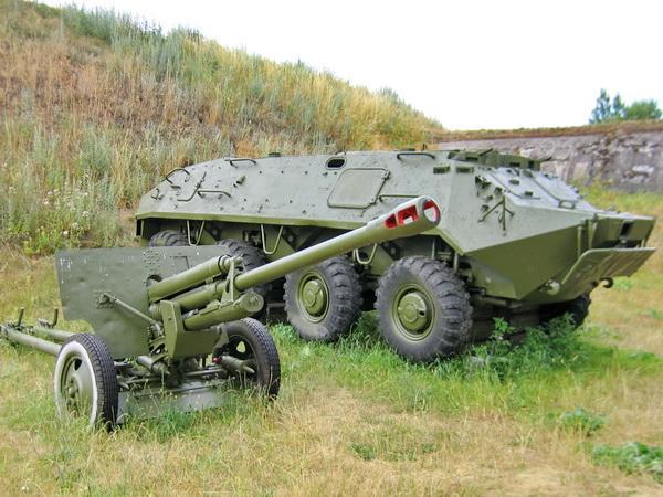 БТР-60 без башни - Брест