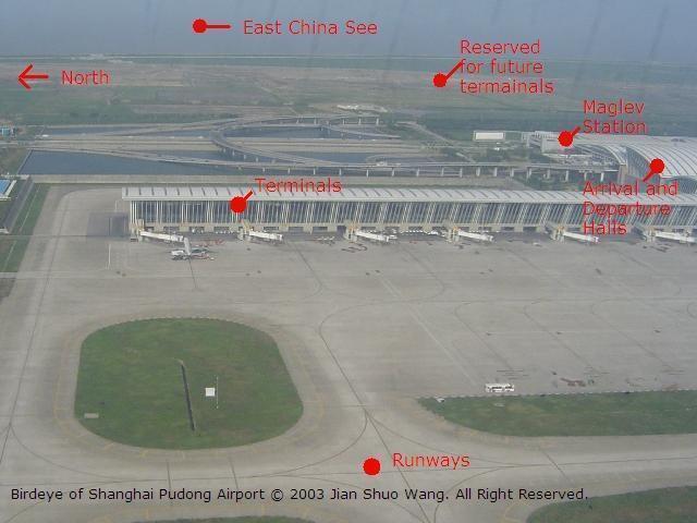 Shanghai Pudong International Airport PVGZSPD Shanghai