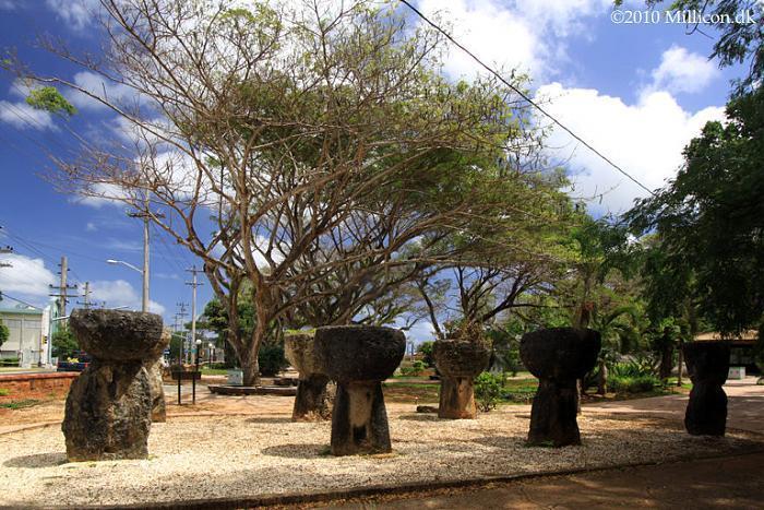 Latte stone park santos memorial park agana for Lin s jewelry agana guam