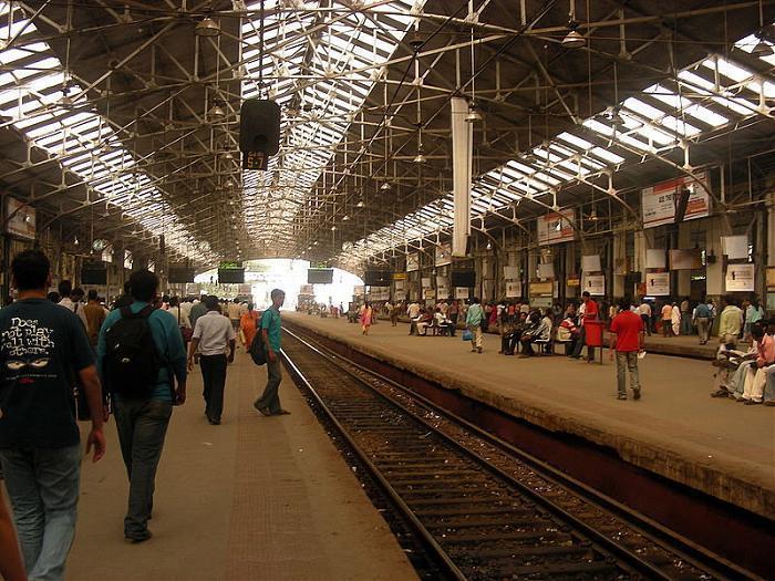 Churchgate Railway Station Mumbai Train Station