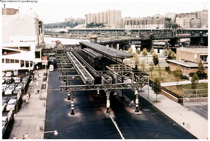 155th Street Former Irt Ninth Avenue Line New York