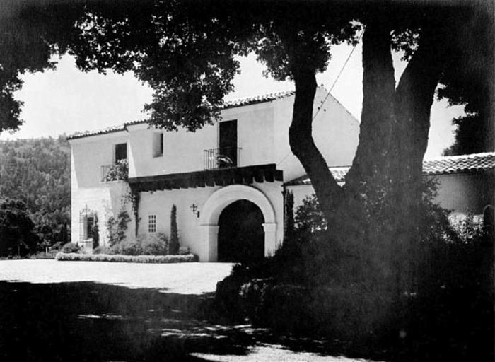 San Jose Dump >> Jackling House (site) - Woodside, California