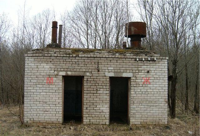 Туалет Каменского водозаборного узла - Камень-на-Оби