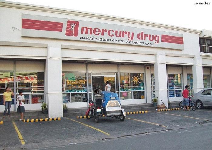 Mercury drug corporation retail