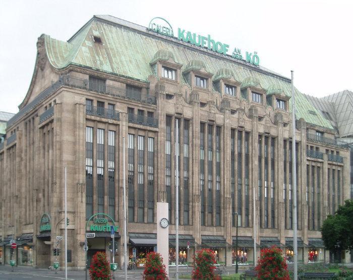 galeria kaufhof d sseldorf k nigsallee d sseldorf