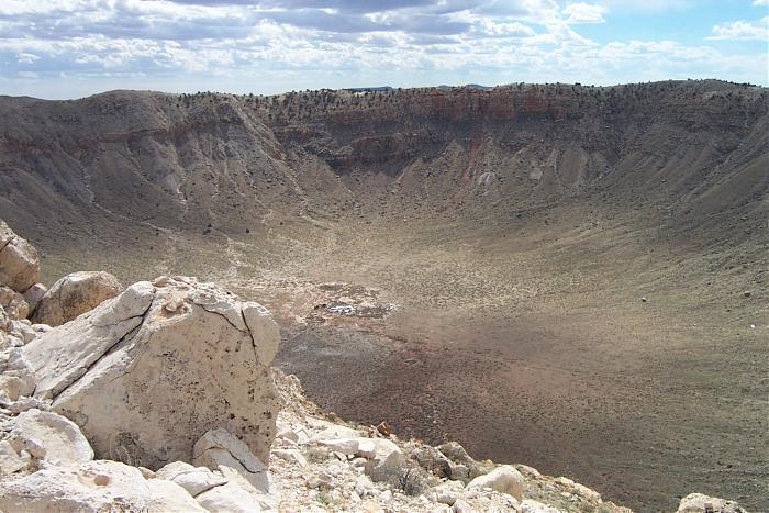 Great Meteor Crater - Barringer Meteorite Crater, Arizona