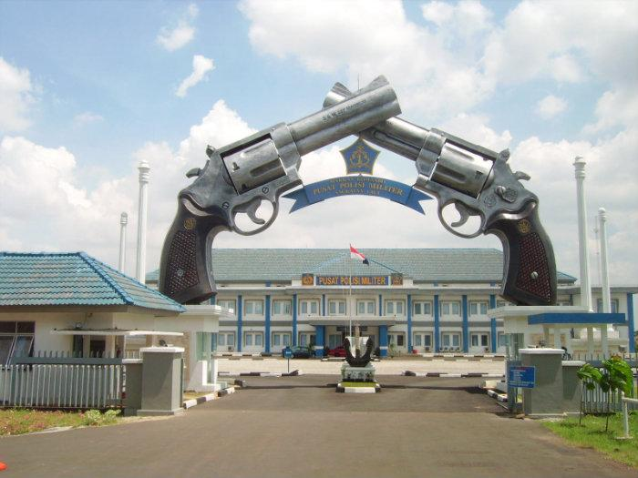 Polisi Militer Indonesia Mako Polisi Militer Angkatan