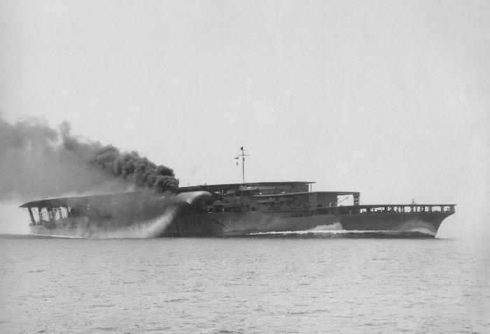 Wreck of HIJMS Akagi (赤城)
